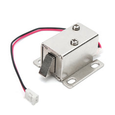 12V 0.34A Electronic Lock Catch Electric Release Assembly Solenoid for Door Gate Drawer