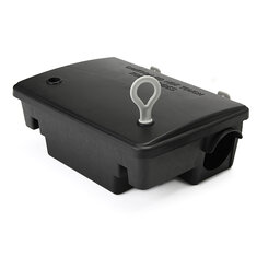Professional Rodent Bait Block Station Box Case Trap with Key For Rat Mouse Mice