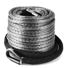9.5mm x 28.9m Winch Synthetic Line Cable Rope 20500 LBs Recovery with Sleeve