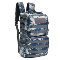 c03064ddb55a 50L Outdoor Tactical Army Backpack Rucksack Waterproof Camping Hiking  Travel Bag