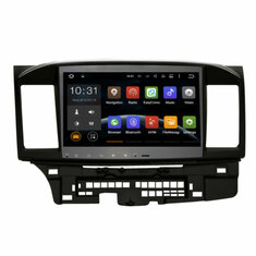 10.2 Inch Car GPS Stereo Navigation Radio Player For Mitsubishi Lancer