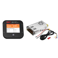 ISDT Q6 Pro BattGo 300W 14A Pocket Lipo Battery Balance Charger With 12V 25A 300W Power Supply
