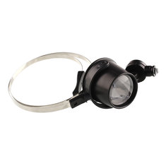 15X Head Band Eye Led Magnifier Loupe Jewelers Circuit Magnifying Glass Watch Watchmakers