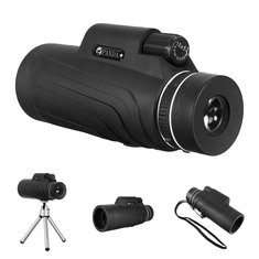 10×52 Outdoor HD Night Vision Monocular Telescope Holder Tripod for Cell Phone