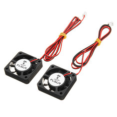 FLSUN® 2PCS 40*40*10mm 12V DC Cooling Fan For 3D Printer