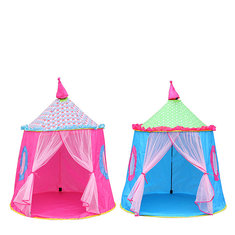 137 x 140CM Portable Princess Tent Indoor Outdoor Children Toy Mini Wigwam
