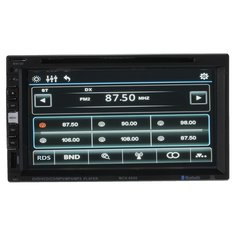 6.9 inch Touch Screen 2 DIN Car DVD Player Car Multimadia Player with Bluetooth Function