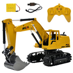 Ao Hai 3853 1/24 2.4G 8CH Rc Car Alloy Excavator Engineering Truck RTR Toy