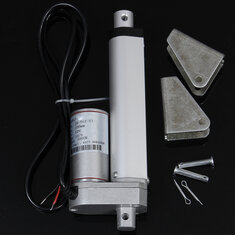 4 inch 100mm 12V 1000N 225LB 12mm/s Miniature DC Electric Linear Actuator Motor