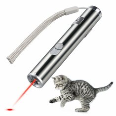 Loskii PT-31 USB Rechargeable Pet Toys Cat Training Toy Laser Pointer