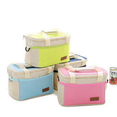 Fashion Portable Insulated Oxford Cloth Lunch Bag Thermal Food Picnic Lunch Waterproof Bags For Women Kids Men