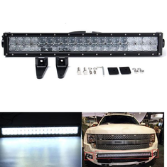 5D 22inch 120W 6000K LED Work Light Bar Spot Flood Combo for Off Road Truck ATV