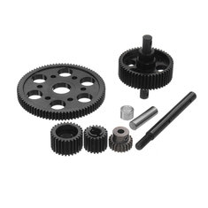 Xtra Speed Steel Pineapple RC Car Gear Set Axial SCX10 1/10Crawler #XS-SCX22119