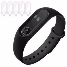 5x Anti Scratch Frosted Screen Protector Film Guard For Xiaomi Miband 2 Smart Bracelet