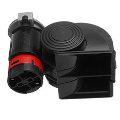 12V 139dB Electric Pump Air Loud Horn Compact Dual Tone for Car Truck Motorcycle