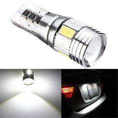 T10 W5W 501 194 5630 6SMD White Canbus Error Free LED Car Side Marker Lights Wedge Bulb Lamp