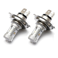 2x H4 HB2 9003 LED Bulb Fog Light Lamp For Audi BMW Mazda