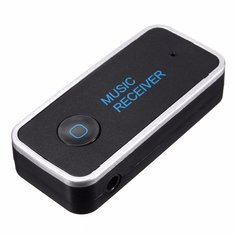 3.5mm Bluetooth 3.0 Car Home Music Audio Stereo Receiver Adapter Transmitter