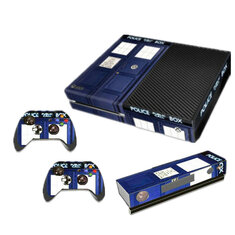 Decal Cover Skin Stickers Decor For Play Station Xbox ONE Console + 2 Controllers