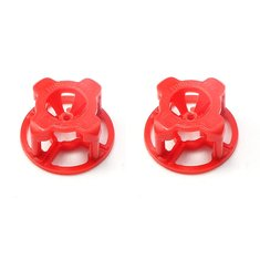 2 PCS FuriousFPV 4-Leaf Antenna Cover RHCP Red