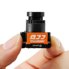 Eachine 1000TVL 1/3 CCD 110 Degree 2.8mm Lens Wide Voltage 5-20V Mini FPV Camera NTSC PAL Switchable