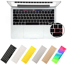 Silicone Soft Keyboard Cover for 2016 New MacBook Pro American USA Version Keyboard