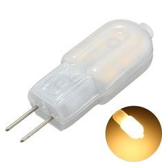 6PCS DC12V G4 2W SMD2835 Non-dimmable Warm White LED Light Bulb for Indoor Home Decor