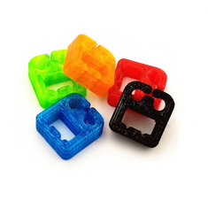 5PCS RC Drone TPU Balance Lead Holder Buckle 12.5*13.3*5mm For 2S Lipo battery