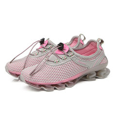 5496e14de66c Outdoor Running Lace Up Shock Absorption Sneakers For Women