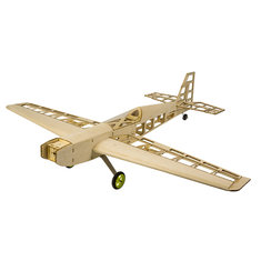 T10 800mm Wingspan Wood RC Airplane Kits Model Laser Cut Training Trainer