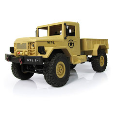 WPL WPLB-1 1/16 2.4G 4WD RC Crawler Off Road Car With Light RTR
