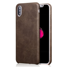 "Bakeeyâ""? Retro Soft PU Leather Ultra Thin Case Cover for iPhone X"