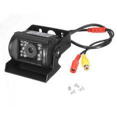 Waterproof 18 IR LED 120 Degree Rear View Backup Reverse Camera Car Truck 12V 24V