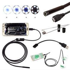 DANIU Endoscope Inspection Waterproof Camera 5.5mm Digital 5m USB For Android Phone