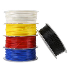 Creality 3D® White/Black/Yellow/Blue/Red 1KG 1.75mm PLA Filament For 3D Printer