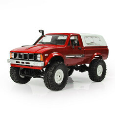 WPL C-24 1/16 4WD 2.4G Military Truck Buggy Crawler Off Road RC Car 2CH RTR Toy