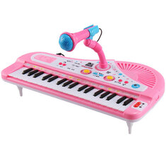 37 Key Kids Electronic Keyboard Piano Musical Toy with Microphone for Children