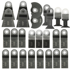26pcs Mixed Blades Multitool Saw Blade Accessories For Fein Multimaster Bosch Makita