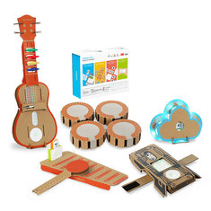 6 In 1 Makeblock STEAM RC Robot Toys Educational Gift Drum Ukulele Bracelet Cloud Xylophone - 6-In-1-Makeblock-STEAM-RC-Robot-Toys-Educational-Gift-Drum-Ukulele-Bracelet-Cloud-Xylophone , 6 In 1 Makeblock STEAM RC Robot Toys Educational Gift Drum Ukulele Bracelet Cloud Xylophone