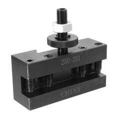 250-201 Turning and Facing Holder Quick Change Tool Post and Tool Holder Lathes Kit