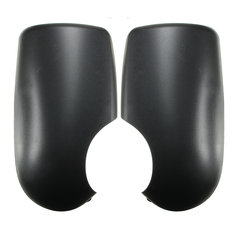 Black Door Wing Mirror Covers Near Passenger Left Right Side For Ford Transit MK6 MK7 2000-2014