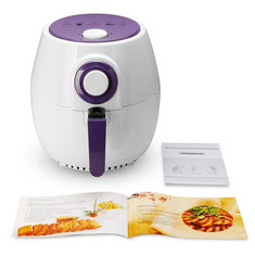 4L Air Fryer Healthy Cooking 5 Star Chef Free Low Fat Food Kitchen White Kitchen Appliance