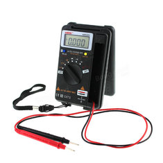 4000 Counts True RMS Mini Digital Multimeter Voltage Resistance Frequency