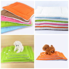 Pet Cat Puppy Dog Warm Kennel Mat Washable Pet Cushion