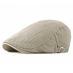 8a12e755 ... Men Cotton Embroidered Double-Sided Adjustable Beret Caps