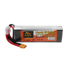 ZOP POWER 14.8V 3300mAh 60C 4S Lipo Battery With XT60 Plug For RC Models