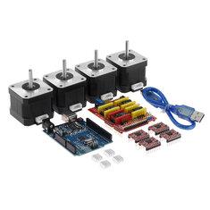 TWO TREES® CNC Shield/UNO R3/4xA4988/4x4401 Motor Kit