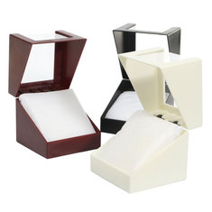 Plastic Case Jewelry Earring Display Transparent Wrist Watch Box Storage Holder