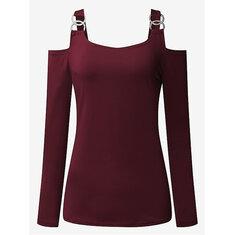 584064d0a2c8d off shoulder tops - Buy Cheap off shoulder tops - From Banggood