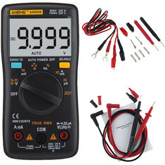 Multimeter digital buy cheap multimeter digital from banggood aneng an8008 true rms digital multimeter 9999 counts backlight ac dc current voltage resistance frequency capacitance fandeluxe Image collections